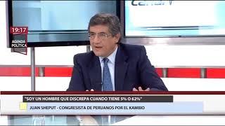 Canal N | Juan Sheput: Las renuncias al partido PPK son una especie de transfuguismo con derechos