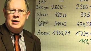 bAV - Direktversicherung