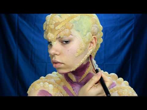 Xxx Mp4 NYX FACE AWARDS BULGARIA 2017 ENTRY CRAZY BUBBLE ALIEN BODY PAINT SFX MAKE UP 3gp Sex