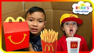 I MAILED MYSELF to Ryan ToysReview and it WORKED! It Gone WRONG to McDonalds (Skit) - TigerBox HD