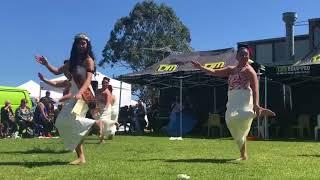 Miss Samoa Victoria, Adele Faaosofia & Nesian Pearl Dance Group