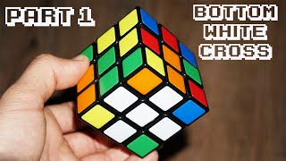 How to Solve a Rubik's Cube - Part 1 - White Cross