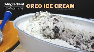 No-Machine Oreo Ice Cream with 3 Ingredients | Dietplan-101.com