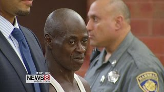 Man accused of murder has outburst against victim