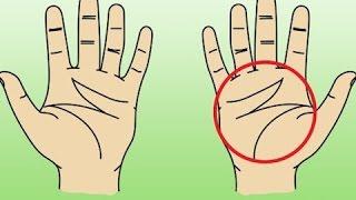 هل تعلم - ماذا يعنى وجود حرف M على كف يدك ؟؟