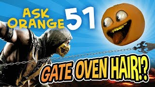 Annoying Orange - Ask Orange #51: Gate Oven Hair!?