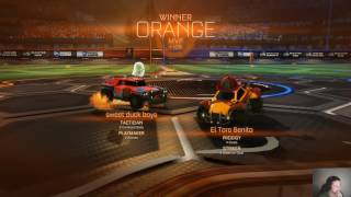 ElToroBenito Gaming Rocket League Live Stream (16 Feb 2017)