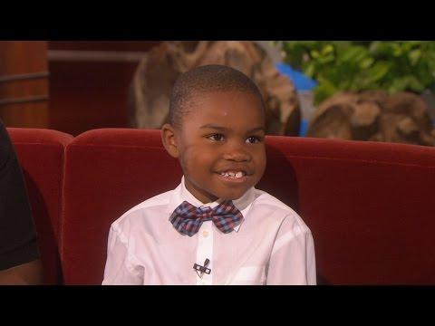 Ellen Meets the 'Exasperating' Kid