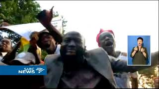 BREAKING NEWS: Celebrations in Zimbabwe as Mugabe resigns