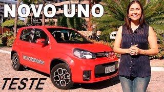 Test Drive Novo Fiat Uno 2015