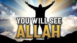 YOUR EYES WILL SEE ALLAH!