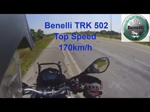 Benelli TRK 502 Top Speed
