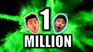 LIVE 🔴: 1 MILLION SUBSCRIBER REACTION!!😃☘️
