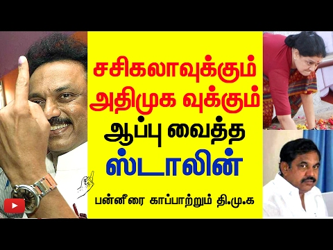 Xxx Mp4 Stalin S Clever Idea To Save O P S And Aappu For Edappadi Palaniswamy Funnett 3gp Sex