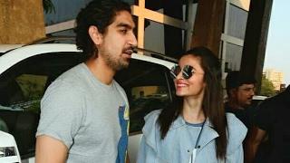 Alia Bhatt and Ayan Mukherjee at the Justin Bieber Concert in Mumbai | SpotboyE