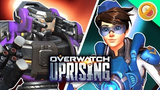 PVE UPRISING! Overwatch Uprising Update (New Skins & Mode Gameplay)