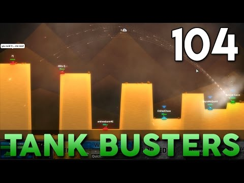 [104] Tank Busters (Let's Play ShellShock Live w/ GaLm and Friends)