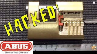(347) Abus 82 Series Bypass Explained