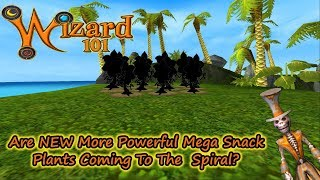 Wizard101 Are New Mega Snack Seeds Coming To The Spiral?!