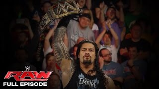 WWE Raw Full Episode, 4 April 2016 - Raw after WrestleMania