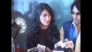 Hot Pritika Choudhary and Co-Star PAWA on the Music launch of New Movie JHAMELA