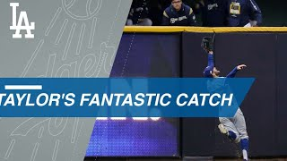 Taylor saves a run with an incredible catch in Game 7