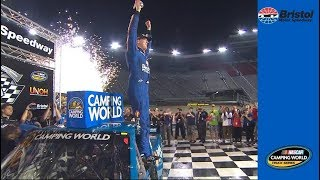 Kyle Busch back in Victory Lane at Bristol