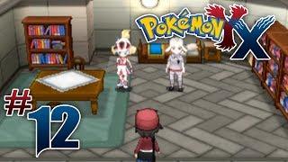 Let's Play Pokemon: X - Part 12 - Shalour City