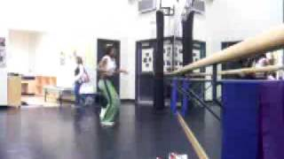 Omega Mighty Lives in the Dance Studio during Highschool