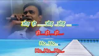 Kaun disha main leke  by Rajesh Gupta with daul language lyrics & daul colours