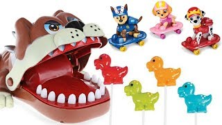 Best Learning Colors With Paw Patrol Family Finger Song Dog Dentist Eats Lollipops   Fizzy Fun Toys