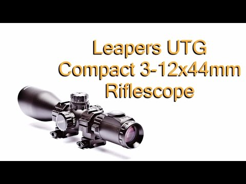 UTG Pro 3-12x44 Compact Rifle Scope