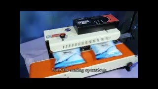Continuous Sealing Machine |BAND SEALER|Packing Machine