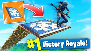 *MAX* HEIGHT BOUNCER TRAP SKY ASSAULT In Fortnite Battle Royale