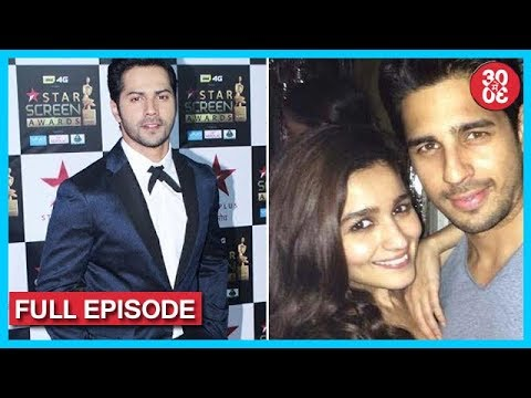Varun Gives His Award To Salman's 'Tubelight' Fame Matin | Sidharth-Alia Avoid Each Other At A Party