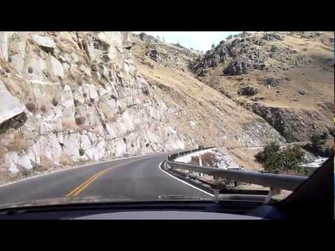 Driving the Lower Kern Canyon: Quick Look