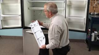 KitchenAid Refrigerator Repair – How to replace the Pantry End Cap - Left Side