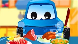 Zeek And Friends | I Love Food | eat your meals | car song and rhymes | original songs for kids