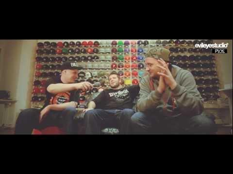 EvilEye Vlog # Wywiad MC Robak X Jarecki/DJ BRK część 1