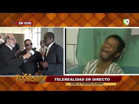 Homenaje a Anthony Rios Desde el estudio Del Show Del Mediodía