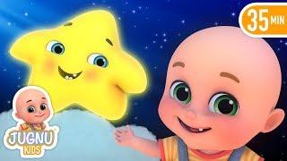 Aasmaan Mein kitne Taare  - Hindi Rhymes for Children by Jugnu Kids