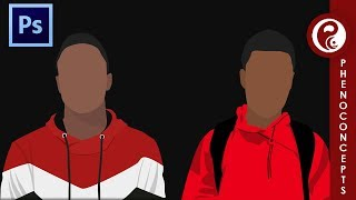 How to create a vector art profile like Marques Brownlee (MKBHD) in Photoshop