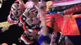 Ananya Performing Brahmanjali at Laya Dance for Cure 2016