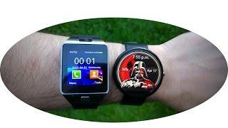 Moto 360 vs DZ09 ($16) Smartwatch Comparison