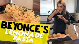 LEMONADE SPAGHETTI FOR BEYONCE // Grace Helbig