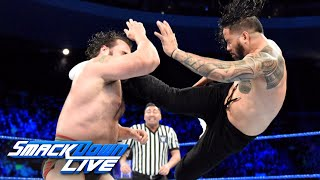 The Usos vs. Rusev & Aiden English: SmackDown LIVE, Dec. 12, 2017