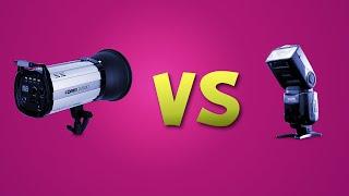 فوتوغرافيا 6: الفلاش الخارجي vs فلاشات الاستوديو