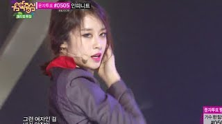 Ji Yeon - Never Ever, 지연 - 1분 1초, Music Core 20140614