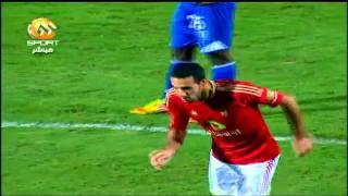 اهداف فوز الاهلي على سموحة 3-1 kora-line.com