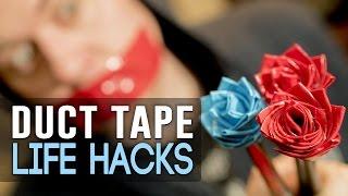 Simple Duct Tape Life Hacks